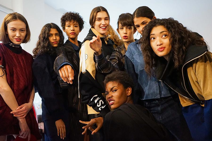 Public School NYFW 2017 Fall Winter Collection Backstage