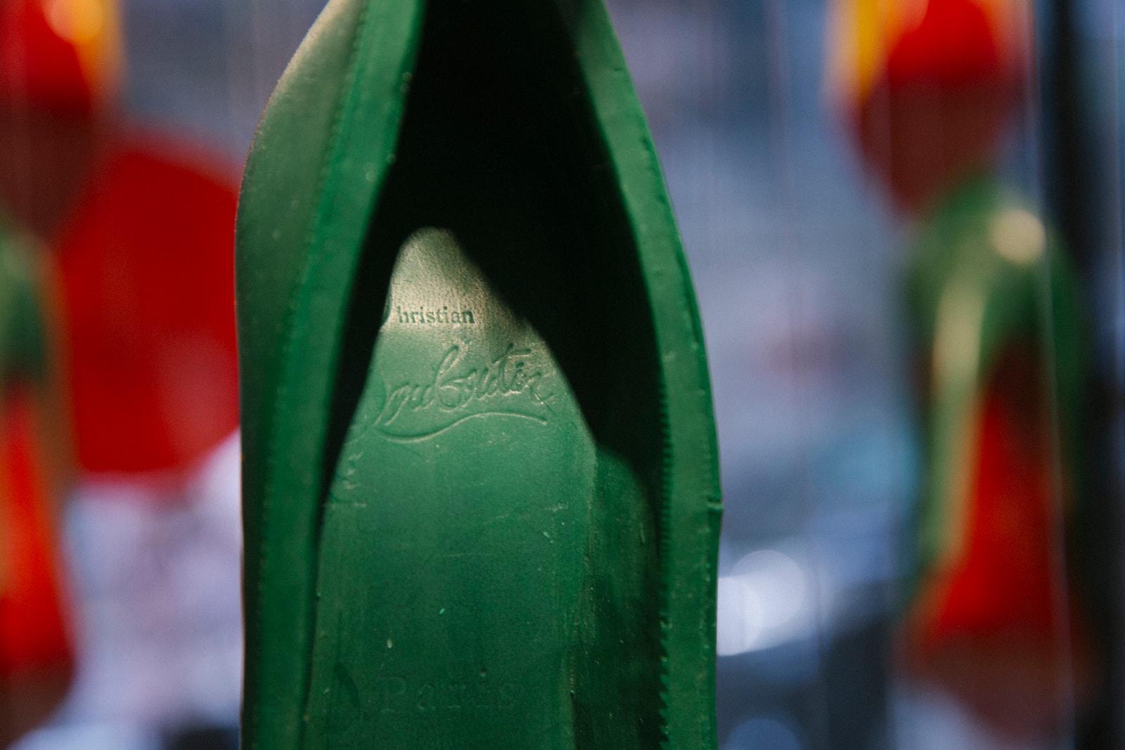 CJ Hendry Christian Louboutin Complimentary Colors Art Basel Exhibition