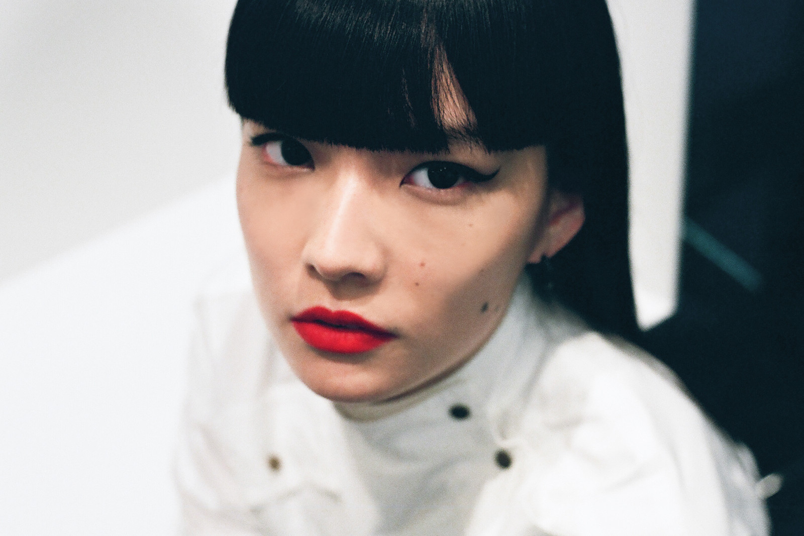 Kozue Akimoto Japanese Model Interview Street Style Paris Fashion Week