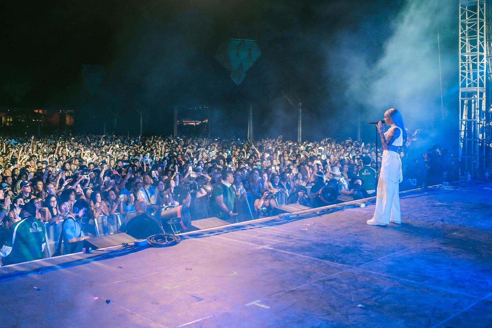 Coachella 2017 Kehlani hair Stylist Kahh Spence wigs