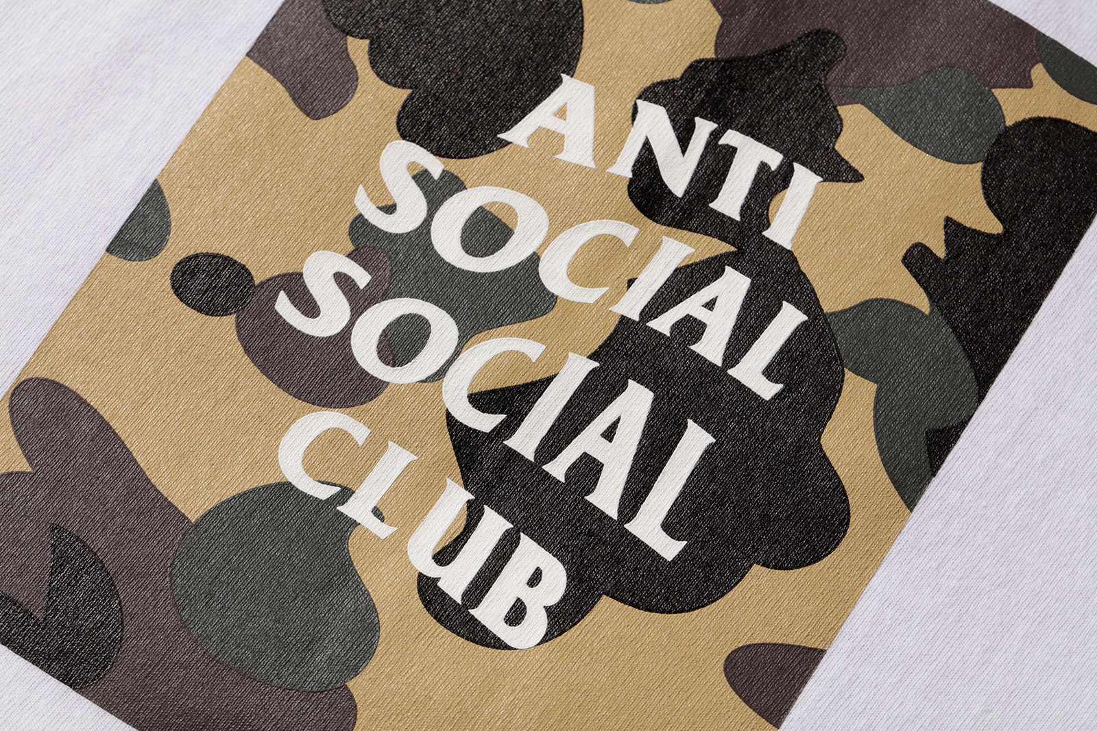 Anti Social Social Club x BAPE Collection Lookbook