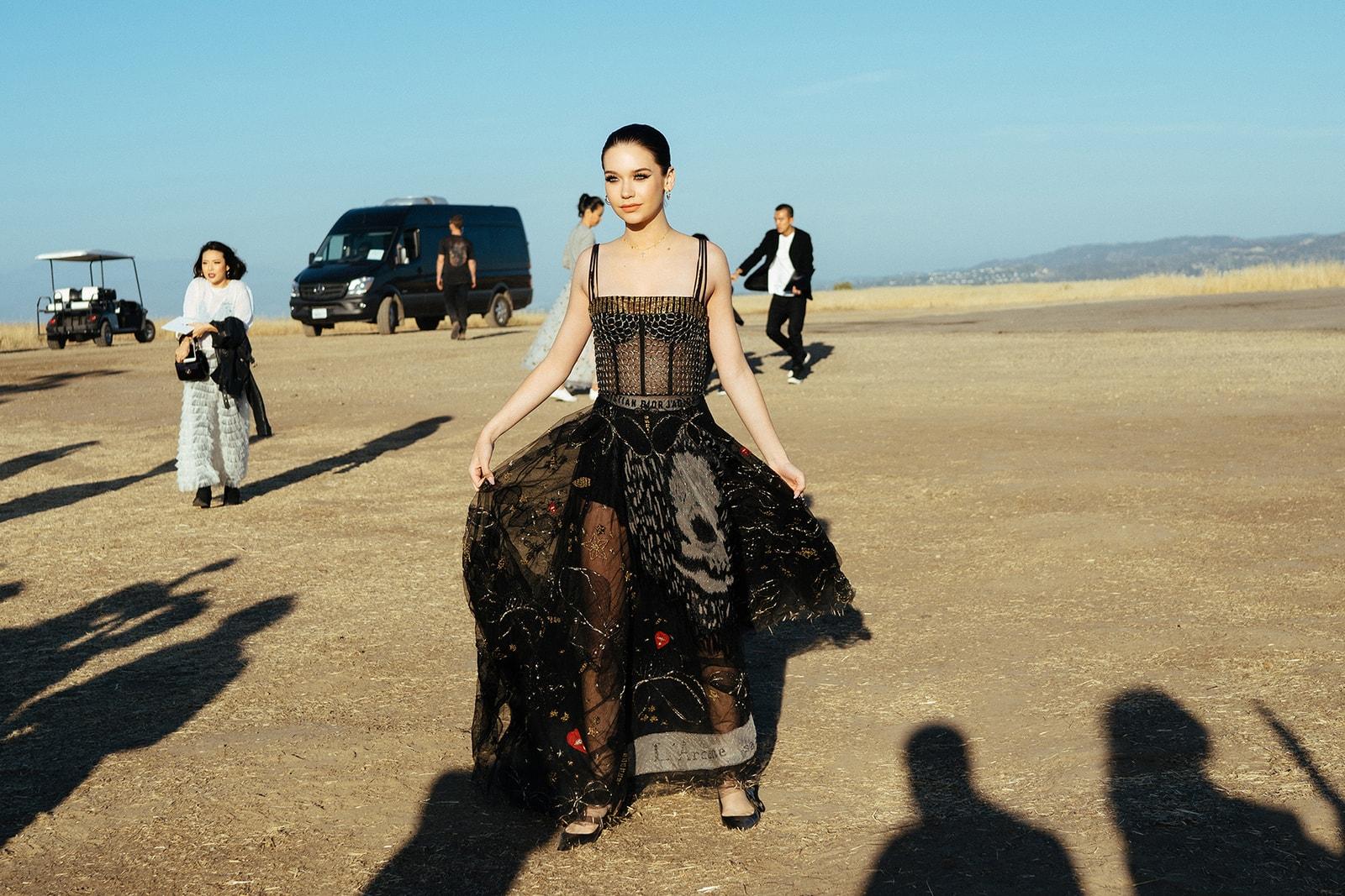 Christian Dior 2018 Cruise Runway Show Rihanna Kiko Mizuhara Brie Larson