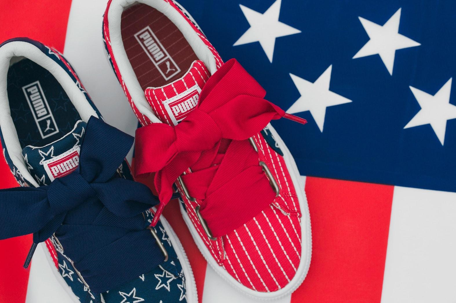 Sneaker Releases 2017 June KKW Beauty Kim Kardashian PUMA Basket Heart adidas Yeezy Zebra Pigalle NikeLab
