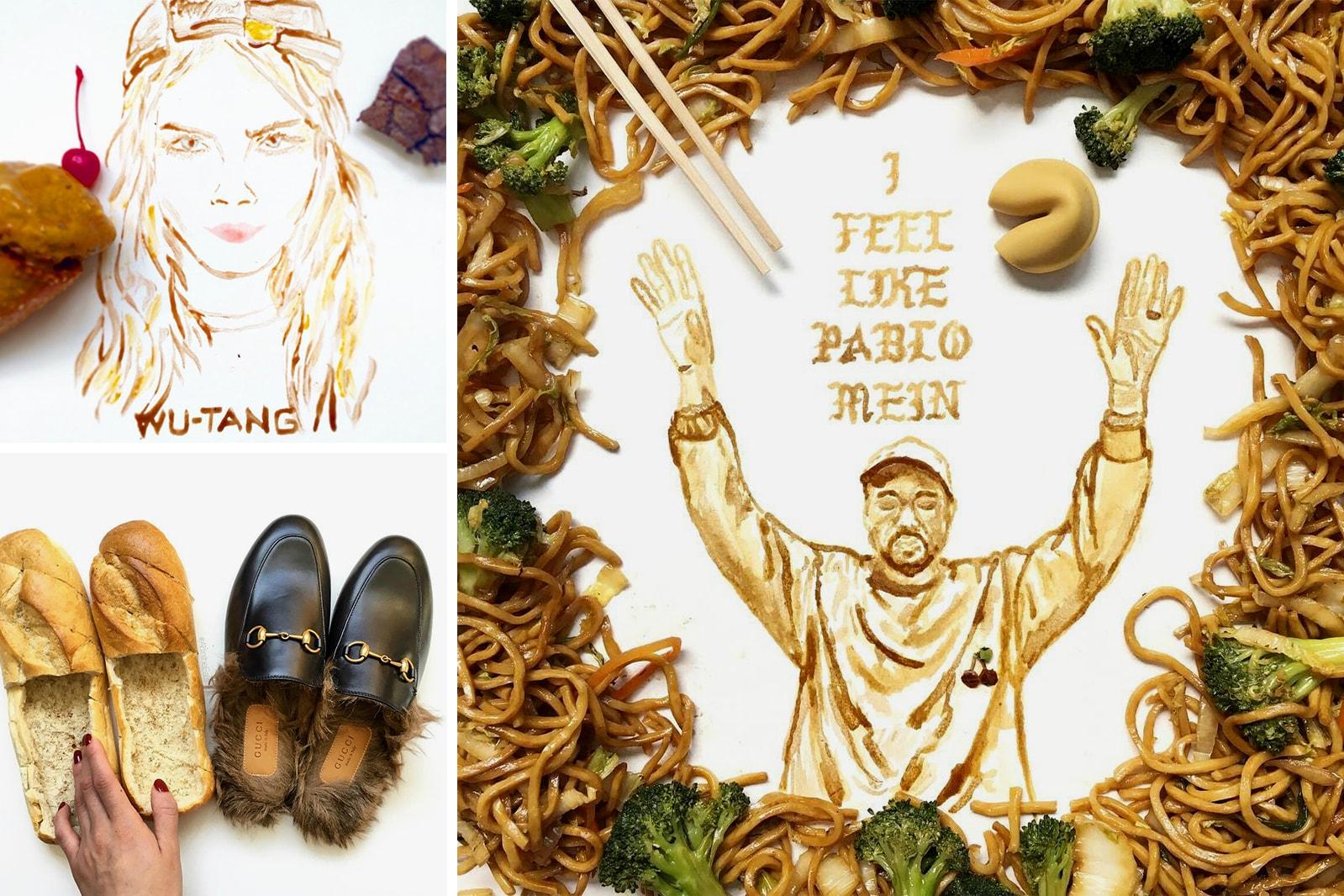 Food Accounts Instagram Kimoji Kim Kardashian Cookie Supreme Latte Drake on Cake Tisha Cherry