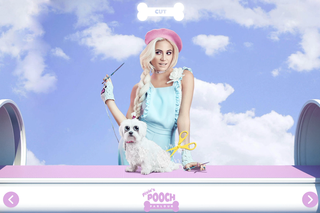 Louby McLoughlin stylist london okgrl pixie lott pooch parlour game