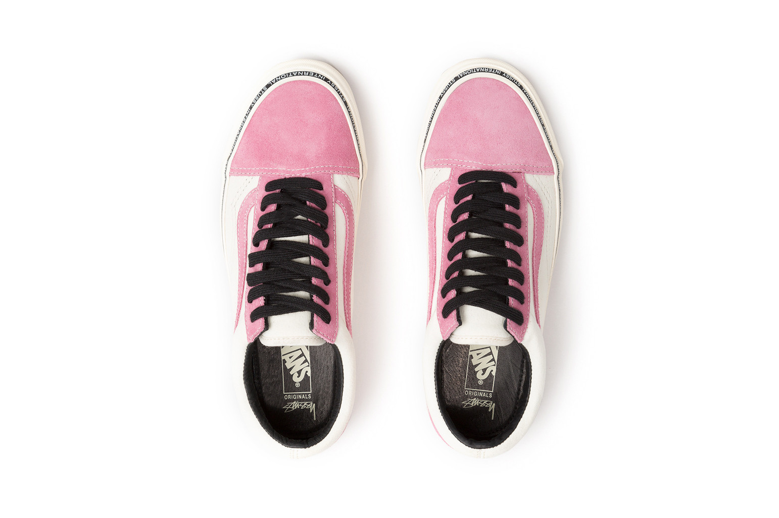 Stussy x Vans 2017 Summer Old Skool Slip-On Chukka