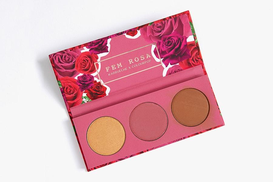 Karrueche Tran ColourPop Fem Rosa Makeup Collection Collaboration Beauty Cosmetics