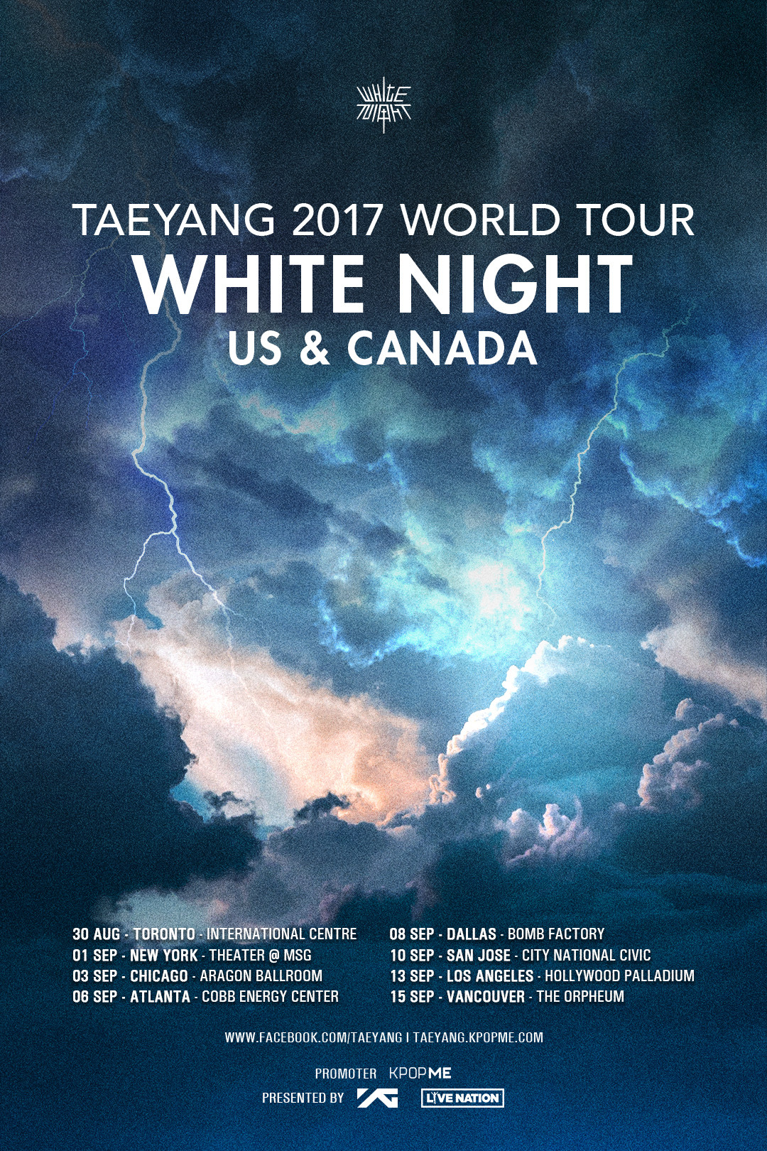 Taeyang Big Bang White Night Tour
