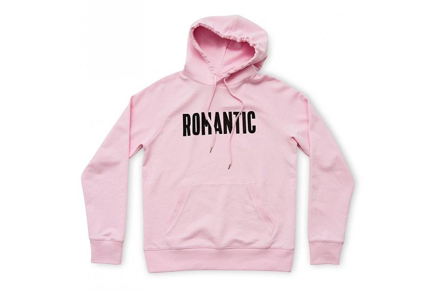 Wood Wood Romantic Hoodies Pink White Navy Grey