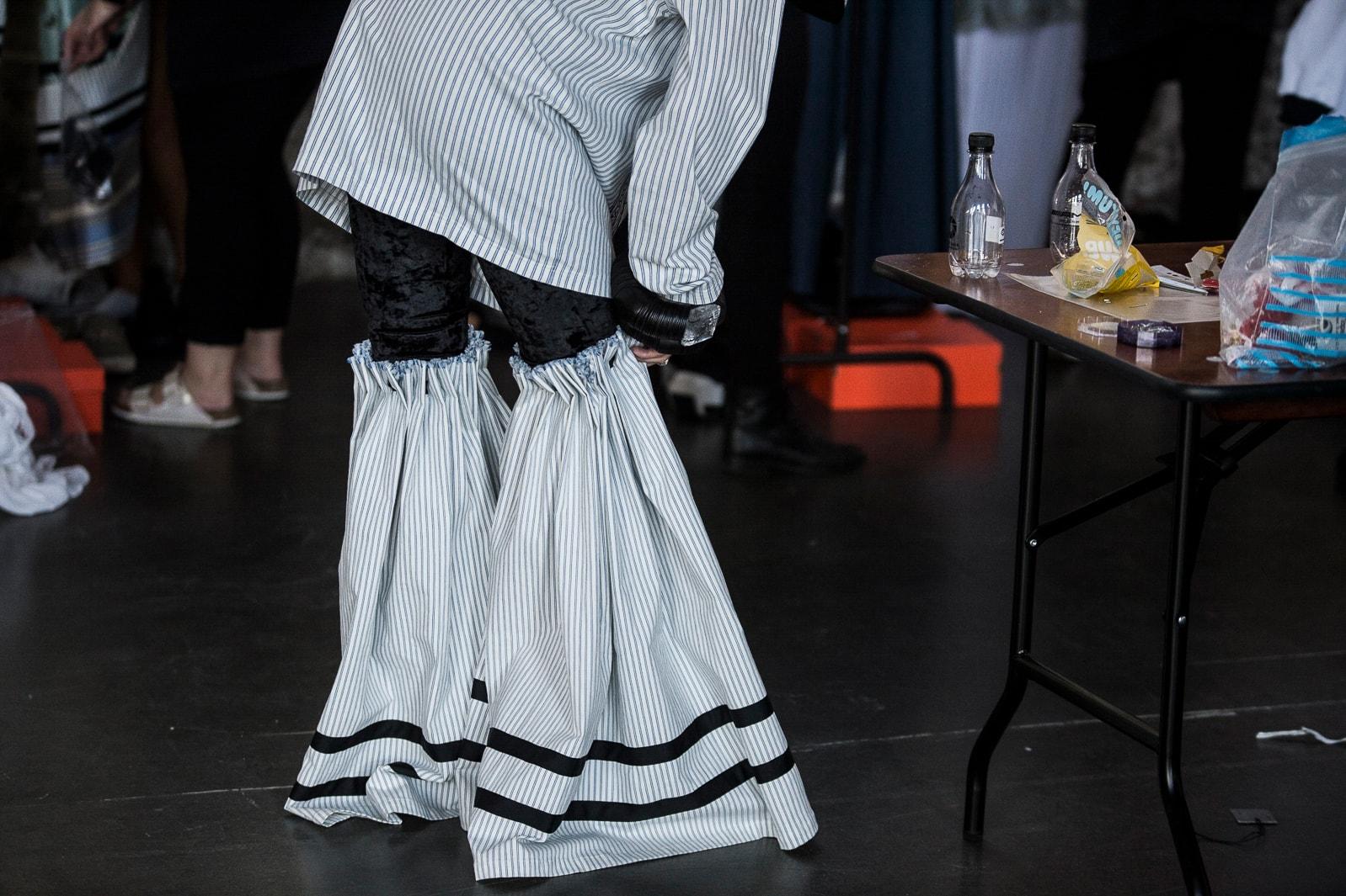 backstage astrid andersen ss18 copenhagen fashion week mo