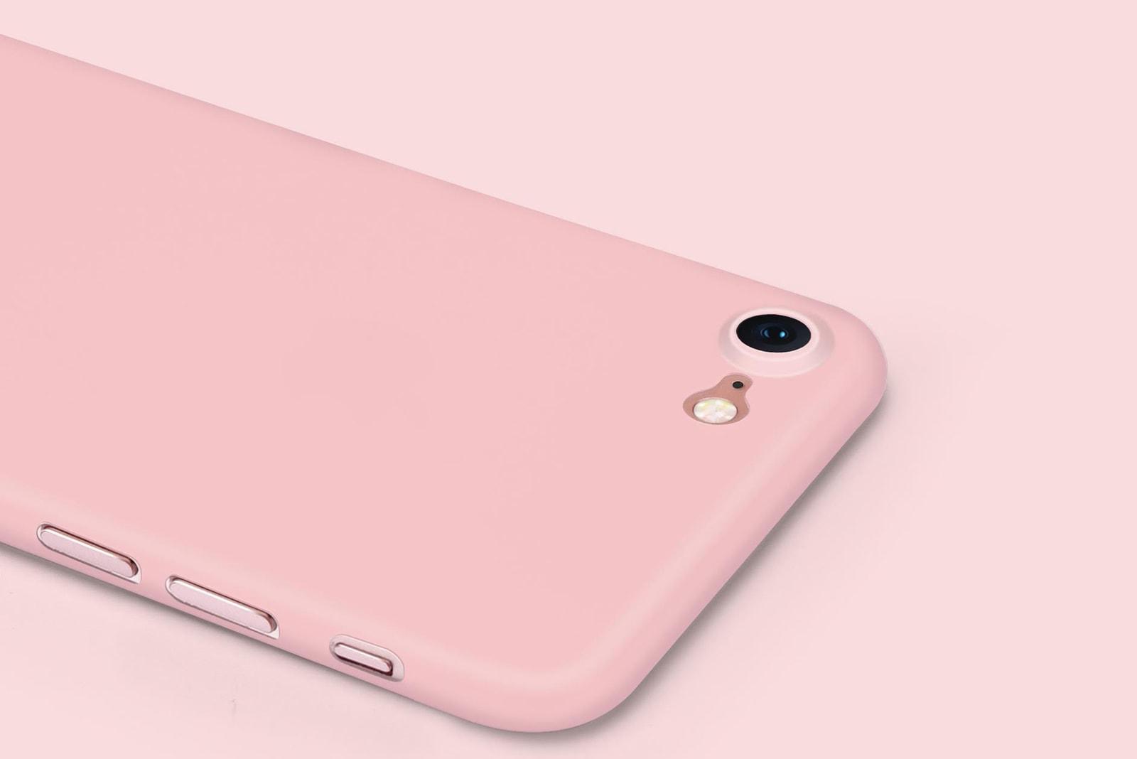 casetify skin case worlds thinnest iphone case millennial pink apple