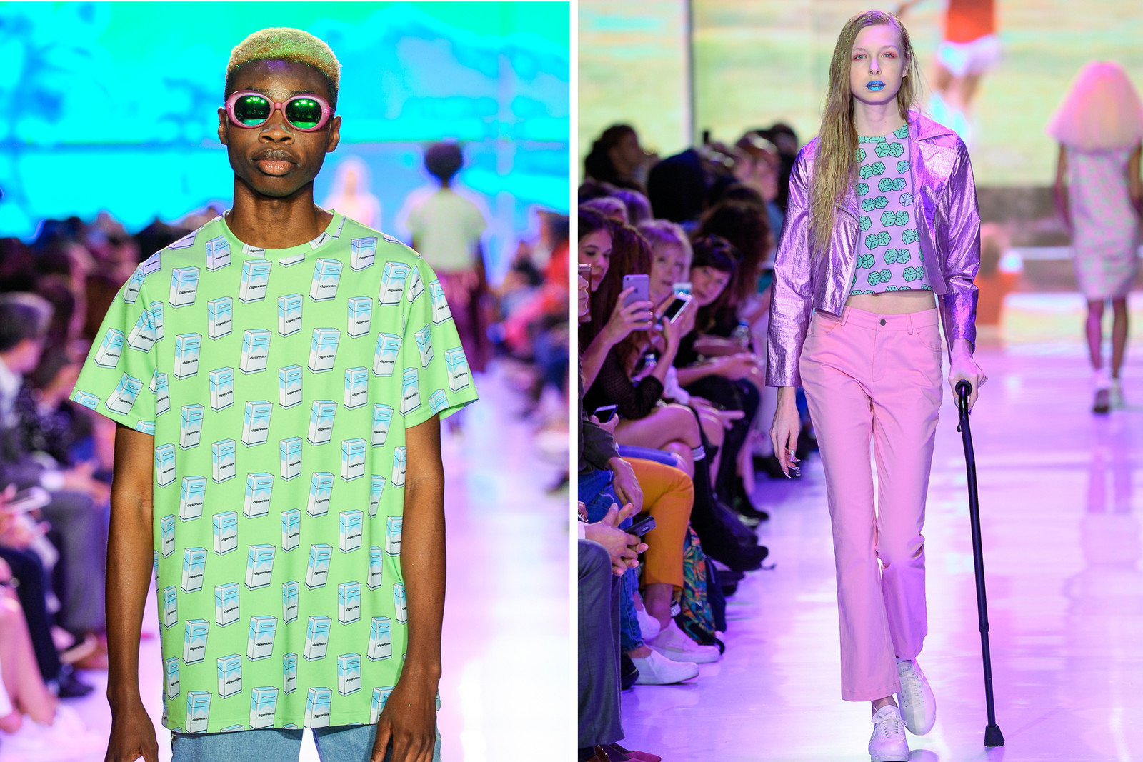 Hayley Elsaesser Toronto Fashion Week Nike Air Society