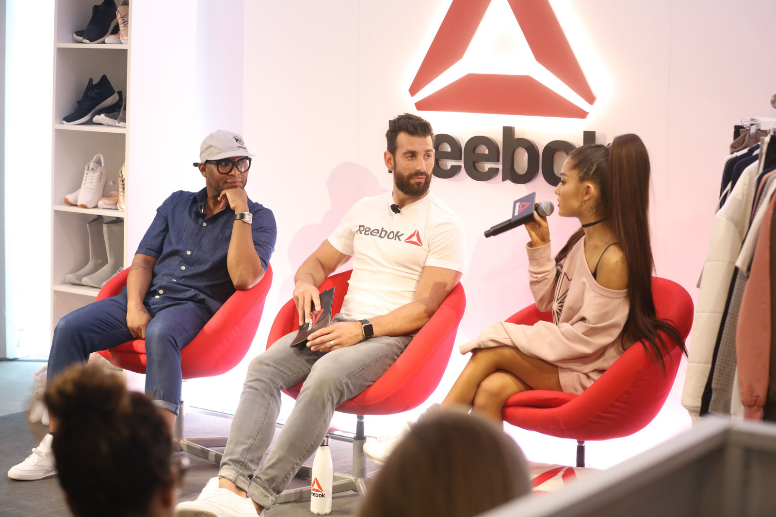 Ariana Grande Reebok Exclusive Hong Kong Event Concert Interview Panel Discussion Dangerous Woman Tour