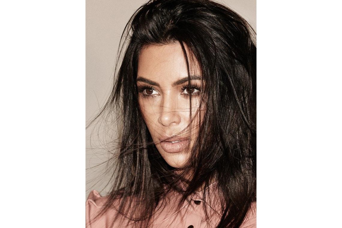 Kim Kardashian Foot Massage Interview Video Allure September 2017 Kanye West North Khloe