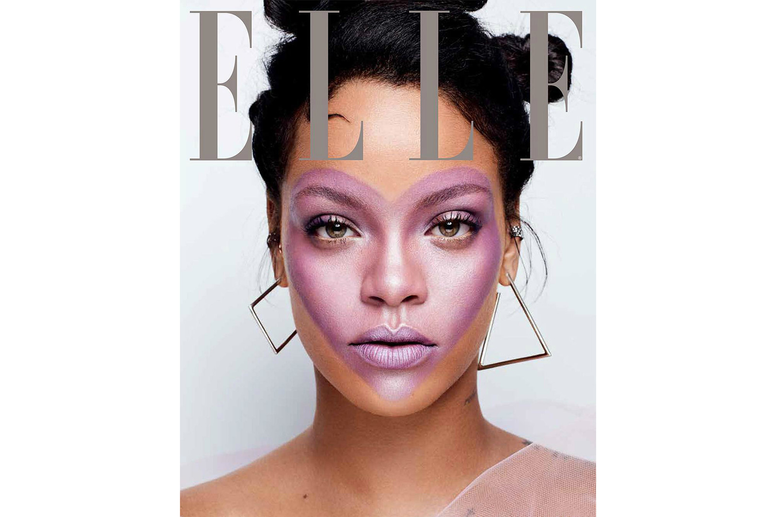Rihanna ELLE 2017 October Cover