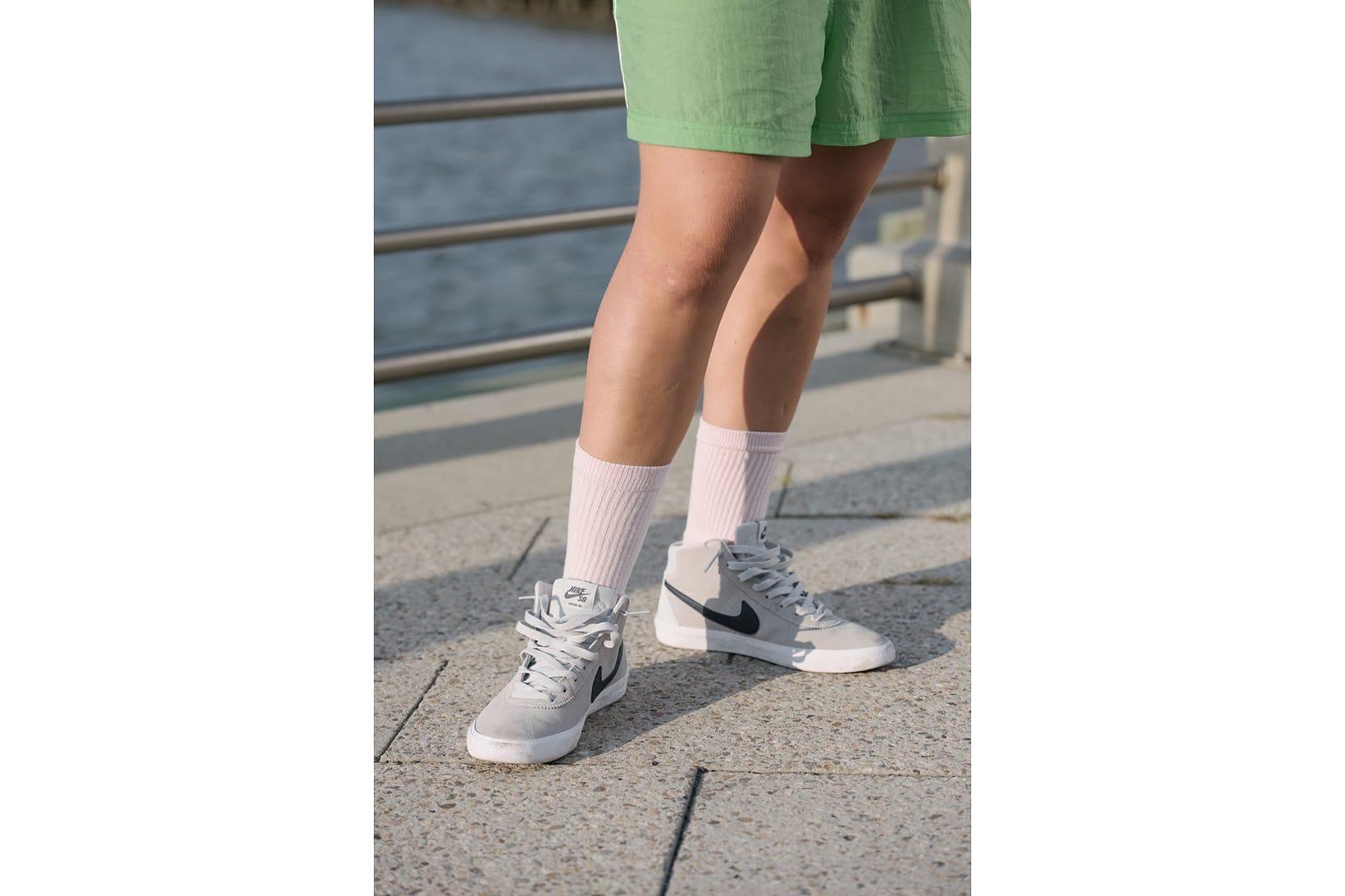 best service ea5a4 9736d Nike Womens SB Bruin Hi Skate Shoe Skateboarding Athletic