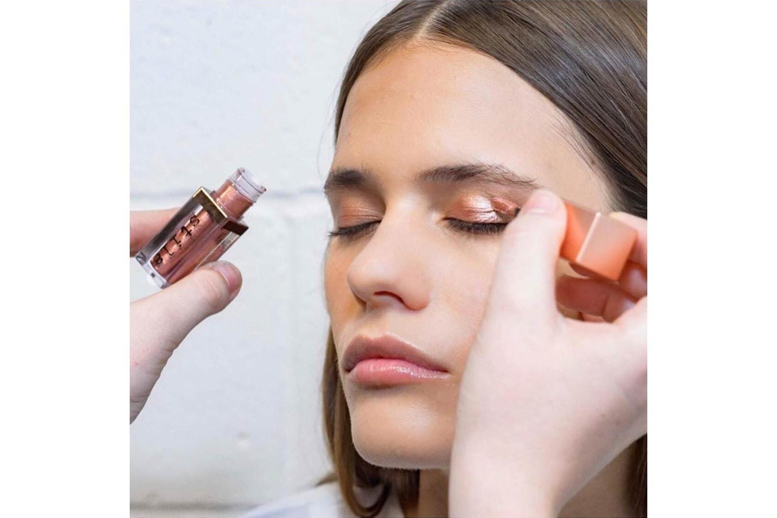 Stila Shimmer & Glow Eyeshadow 2018 NYFW Makeup