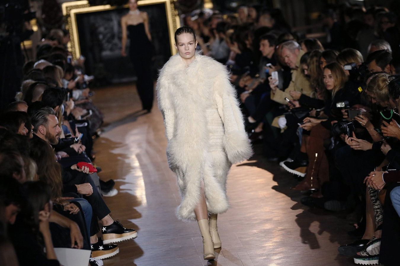anti fur protestors gucci stella mccartney ralph lauren peta
