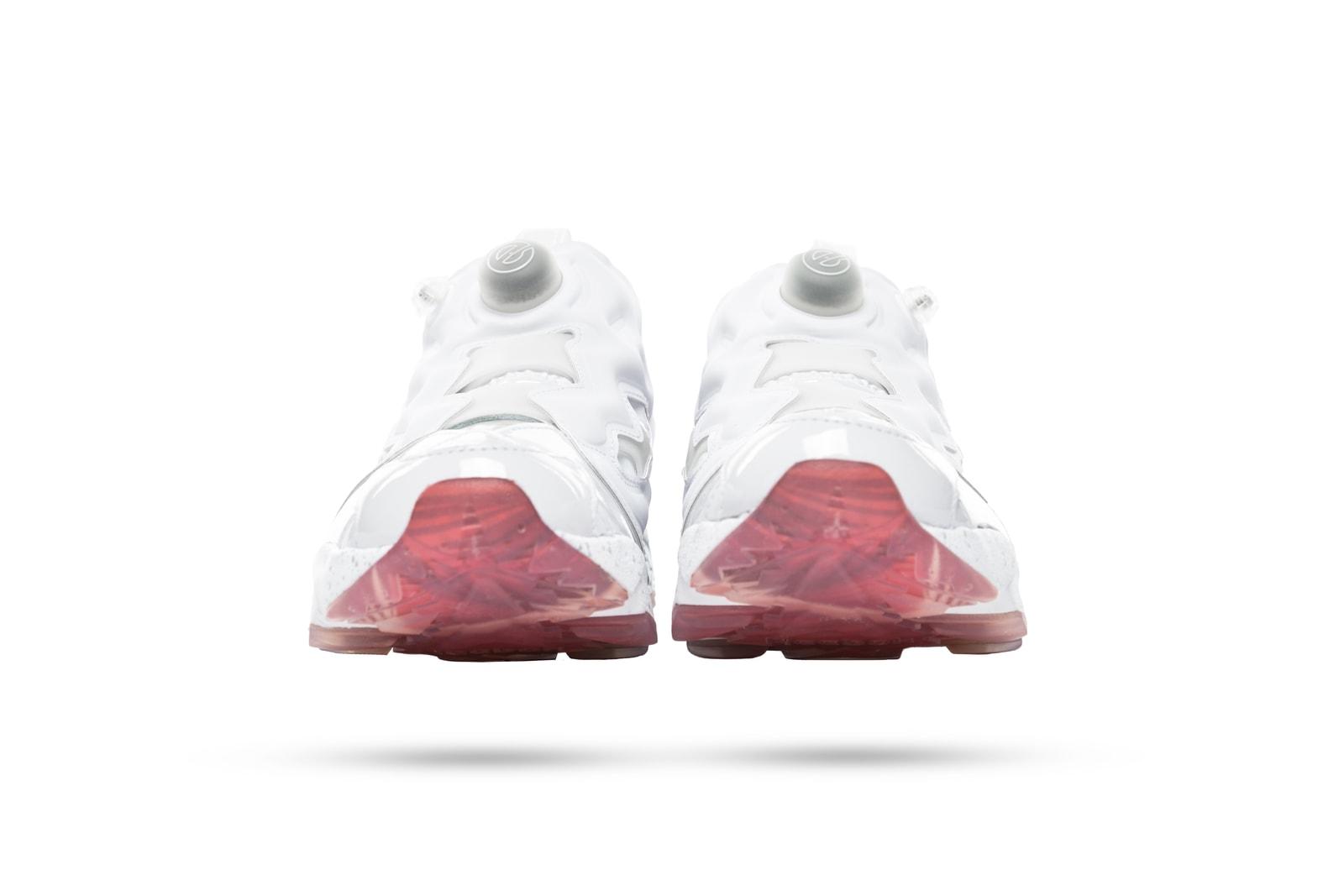 Epitome x Reebok Instapump Fury Sneaker Footwear Shoe Evolution of Woman Female Power Campaign Lookbook Silhouette