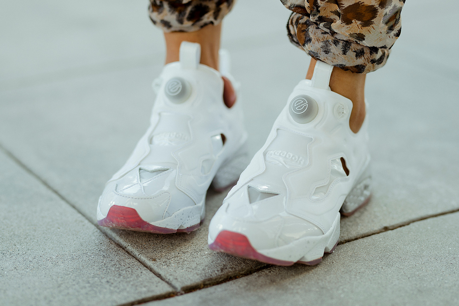 Epitome x Reebok Instapump Fury Sneaker Footwear Shoe Evolution of Woman Female Power Campaign Lookbook Silhouette
