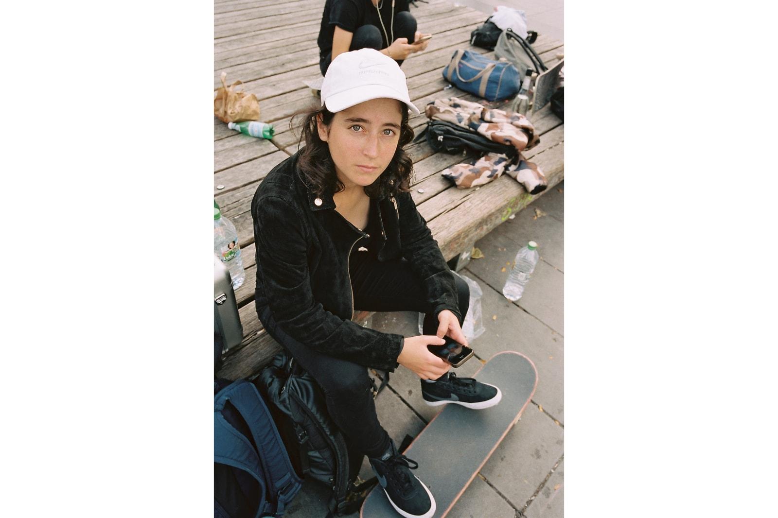 Nike SB Skateboarding Sneakers Girl Power Female Skaters Lacey Baker Sarah Meurle Savannah Stacey Keenan Josie Millard Charlotte Hym