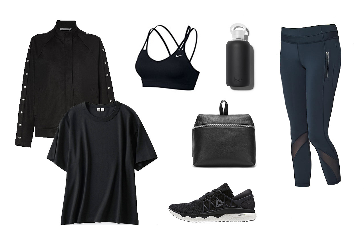 How To Look Stylish In Workout Gear Editors Guide Inspiration Workout Fitspo Nike adidas Alexander Wang Running Uniqlo Swell Water Bottle Kara Lululemon Victorias Secret