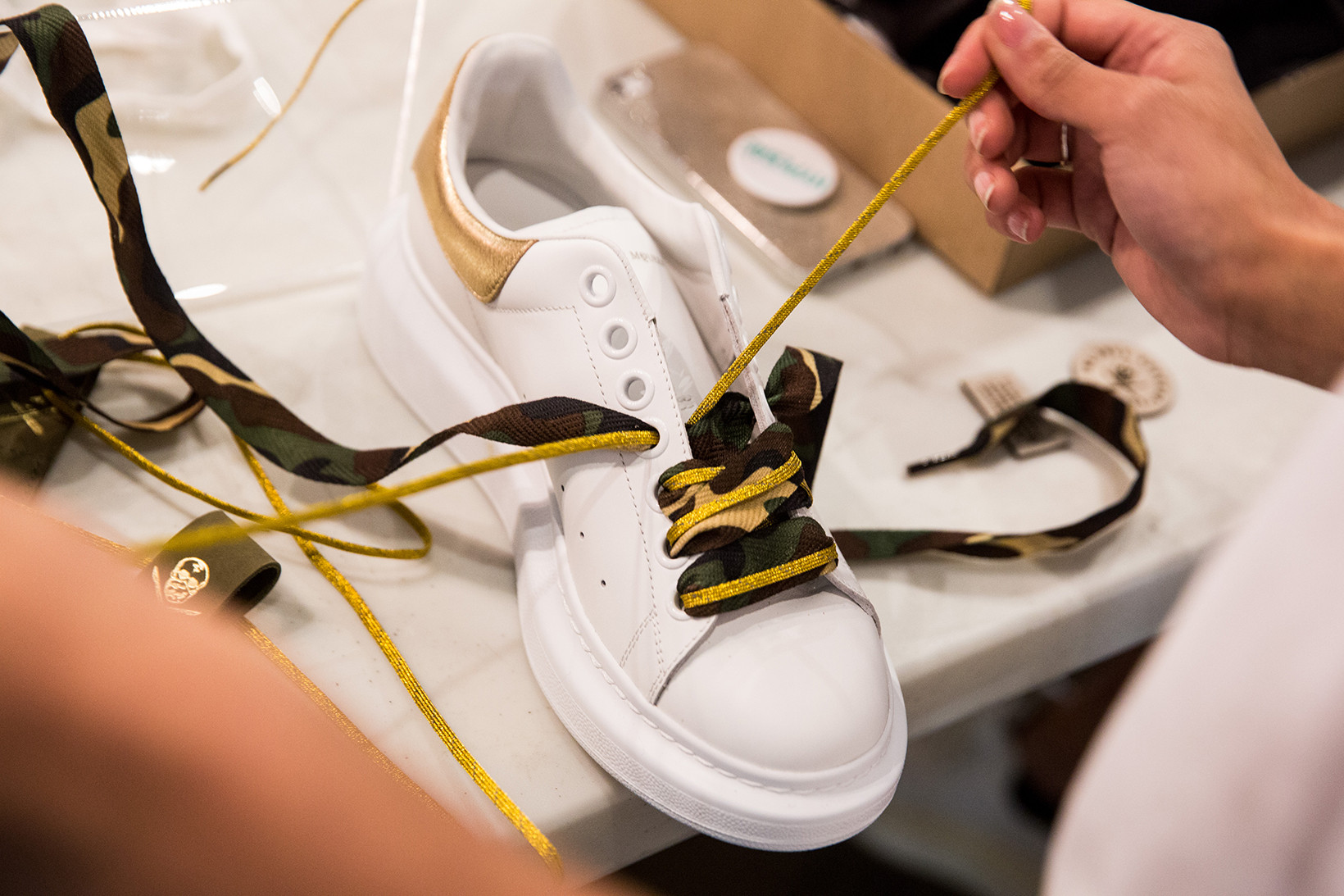 The Shoe Surgeon x Farfetch Sneaker