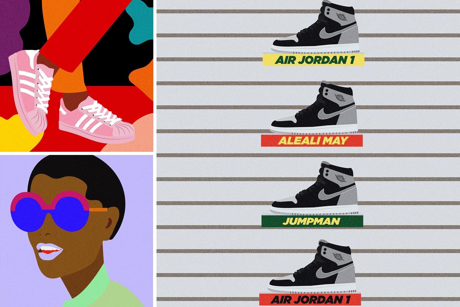 Sneaker Illustration