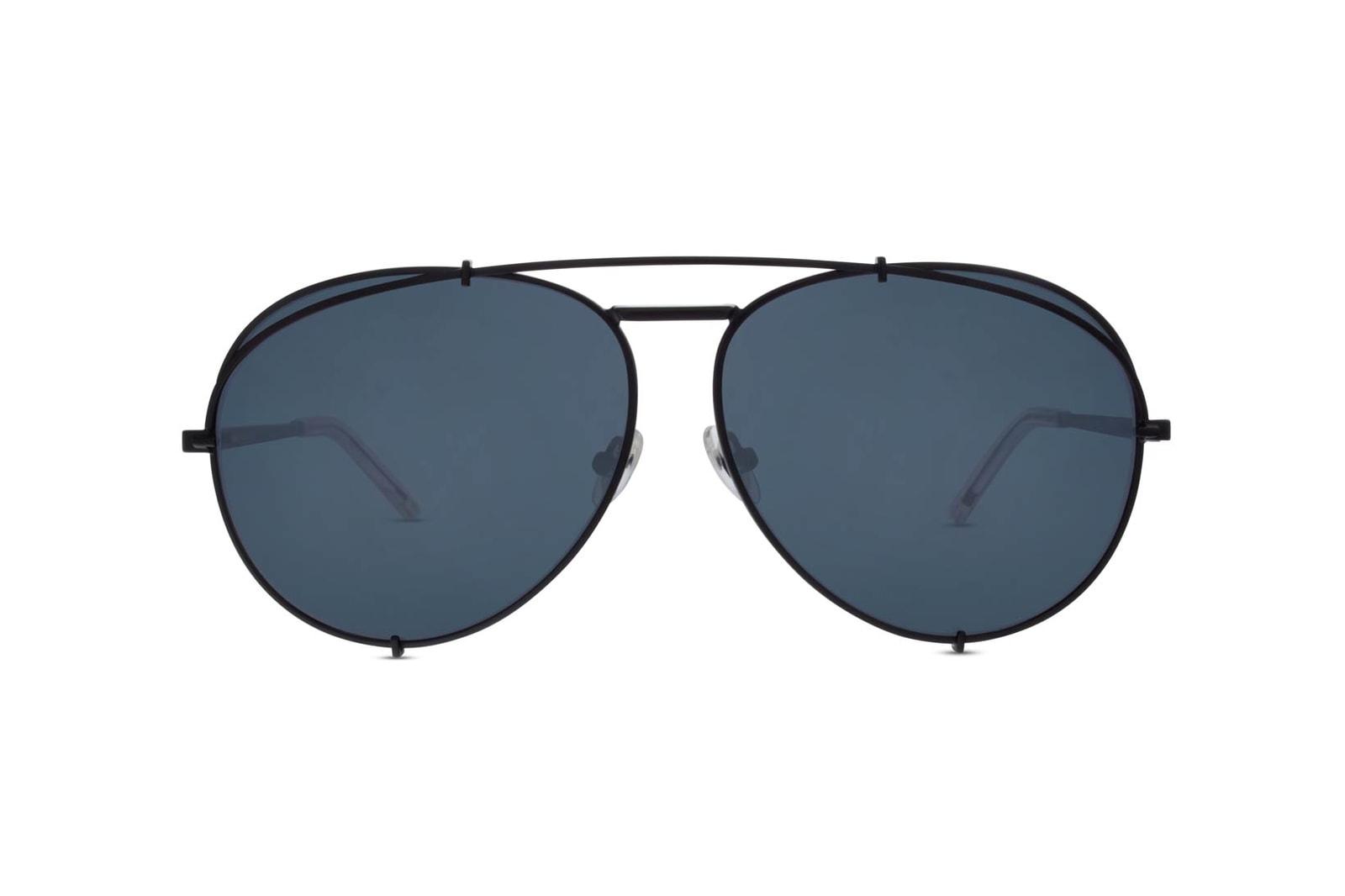 Khloe Kardashian DIFF Eyewear Koko Aviator Sunglasses