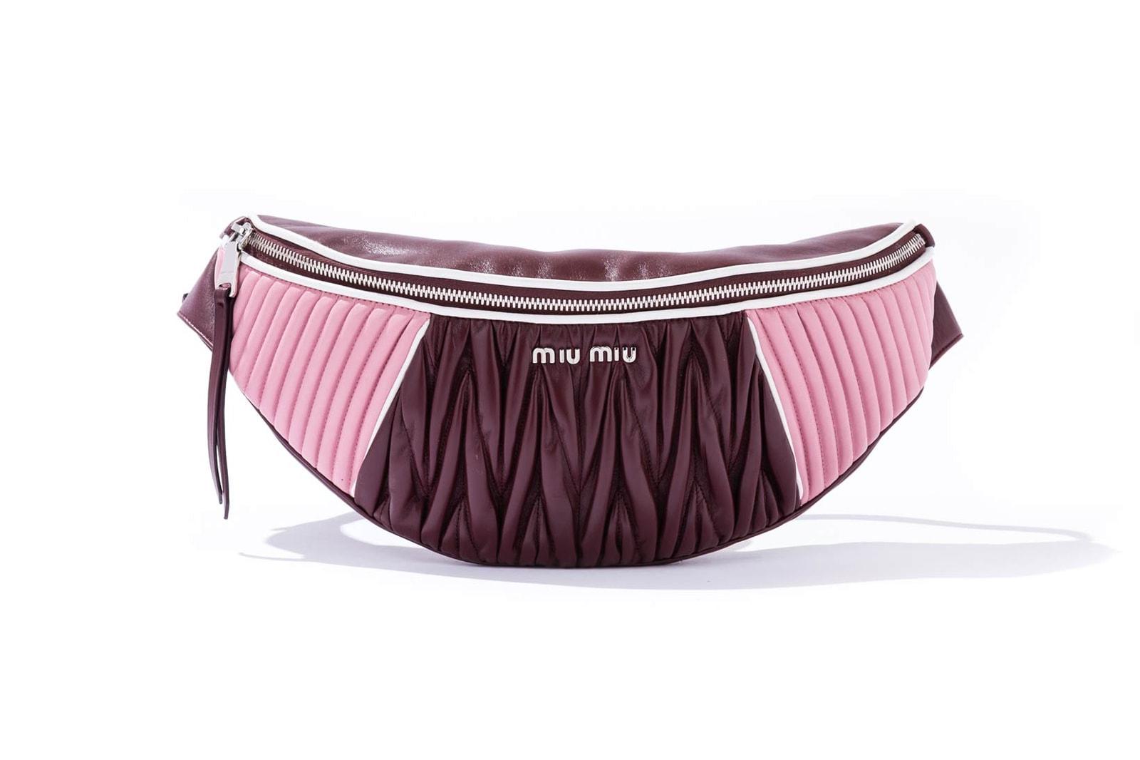 Miu Miu Rider Bag Fanny Pack