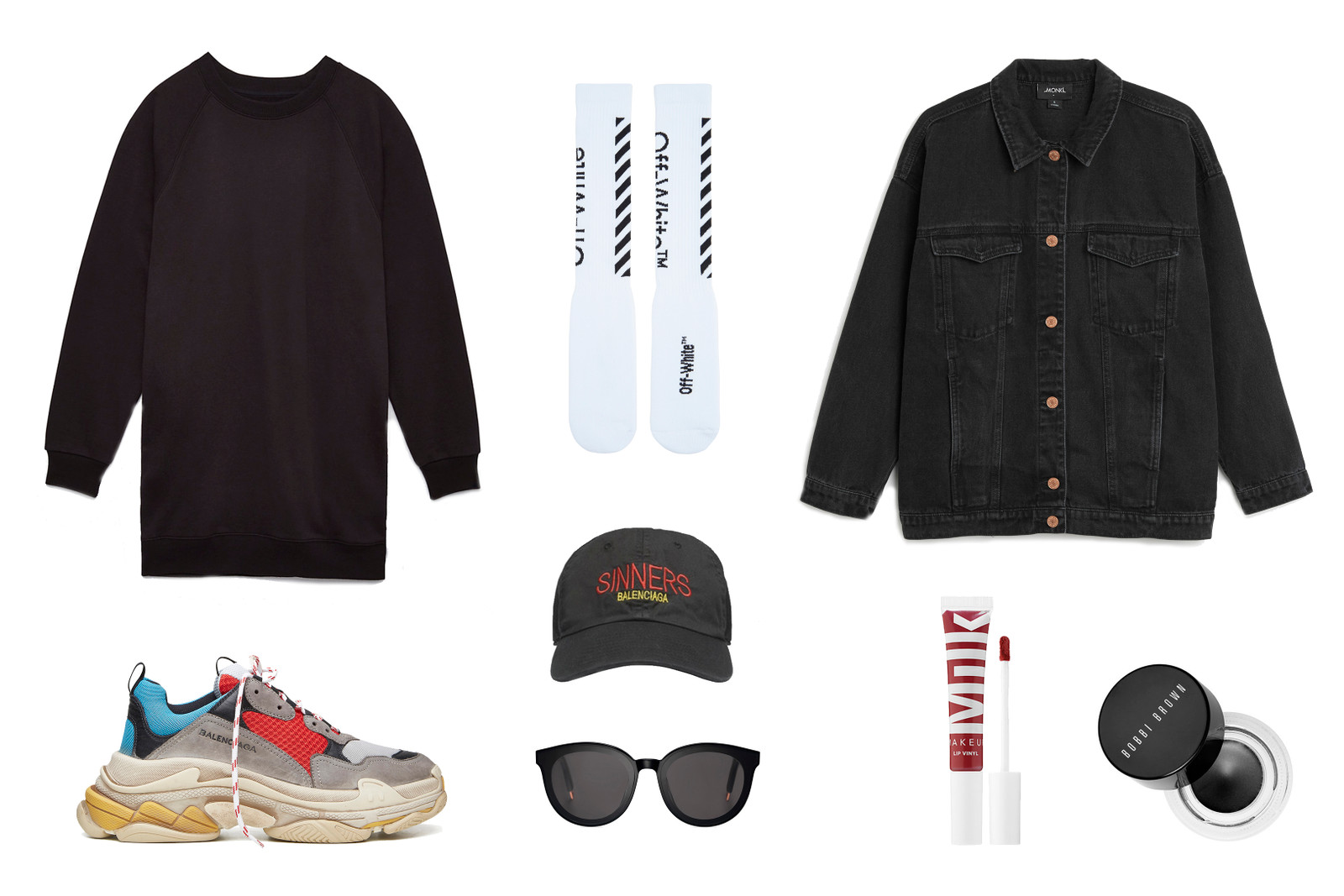 Balenciaga Triple-S Sneaker Runner Shoe Outfit Ideas Silhouette Popular Hype Fashion Inspiration