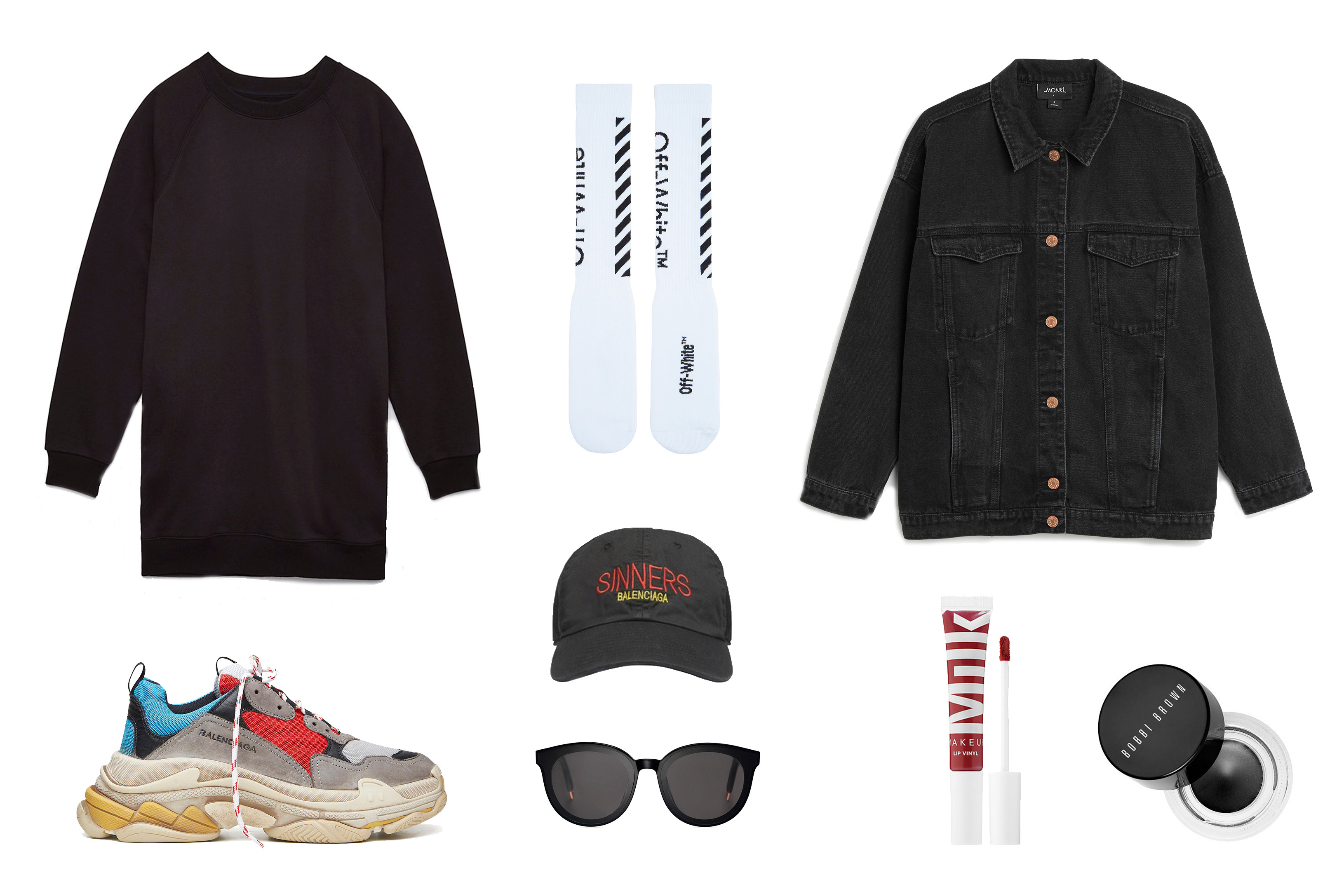 Balenciaga Triple,S Sneaker Runner Shoe Outfit Ideas Silhouette Popular  Hype Fashion Inspiration