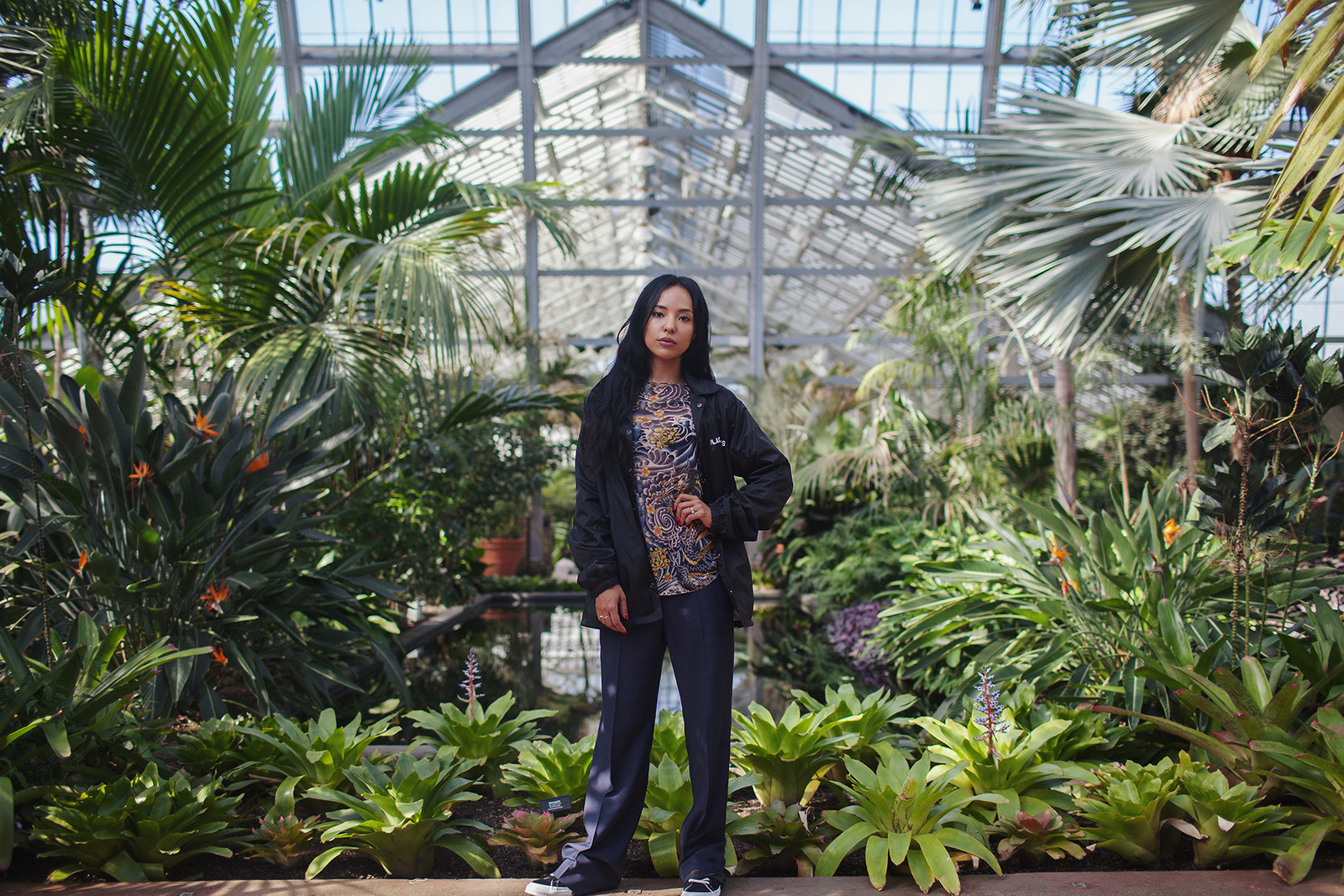 Elizabeth De La Piedra Smart Yehme2 Chicago City Guide Photographer Alcala's Fishtail Neon Garfield Park Conservatory Instagram