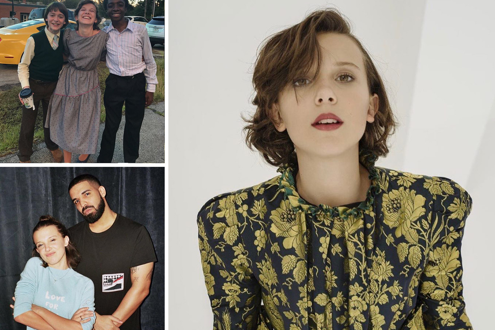 Instagram Influential Teenagers Millie Bobby Brown Amandla Stenberg Willow Smith Maddie Ziegler Noah Cyrus Music Entertainment Fashion