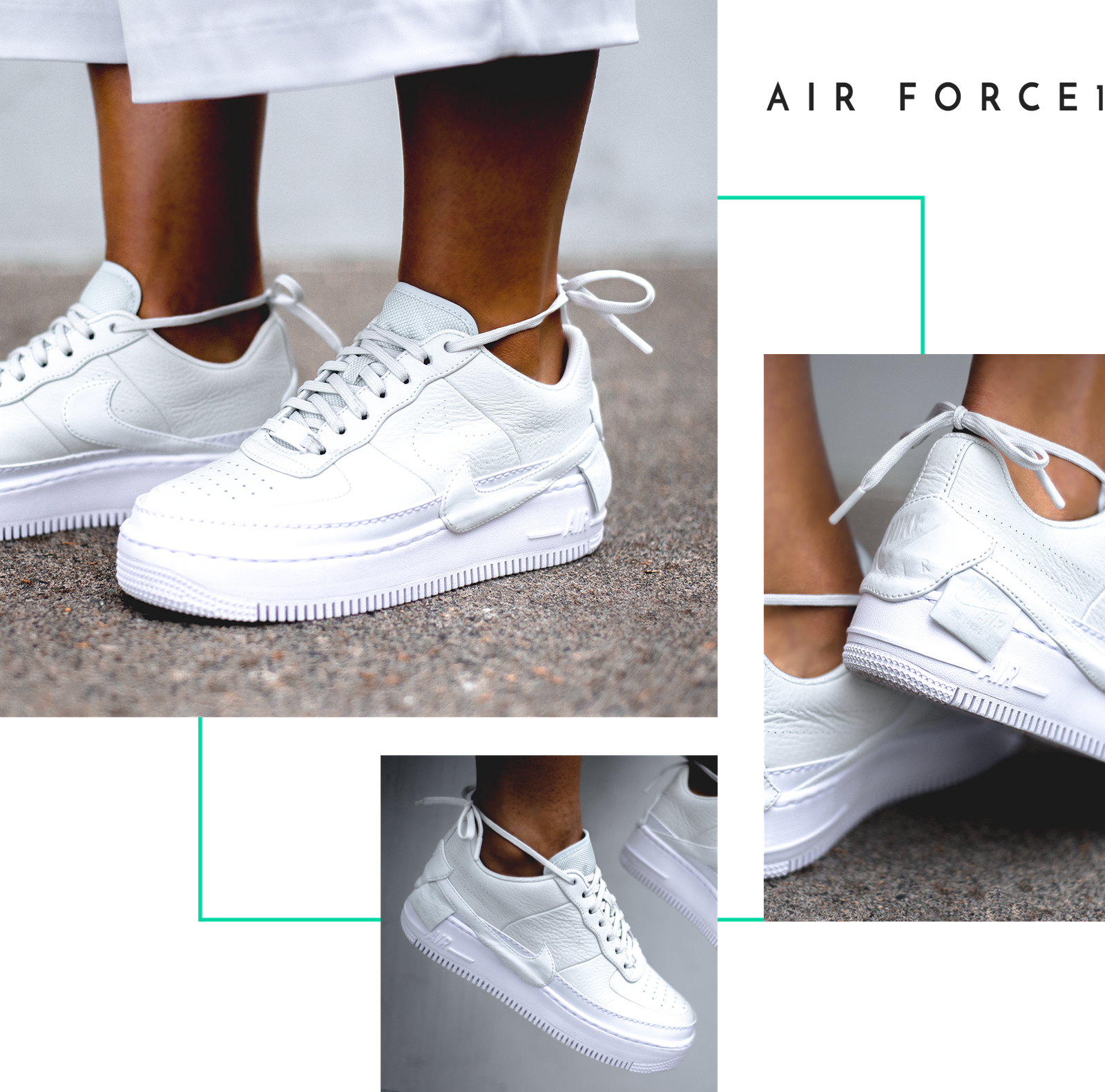 a617572acc462c Nike The 1 Reimagined Jester XX Air Force 1 Jordan Jumpman Boot Logo Swoosh  Women Female