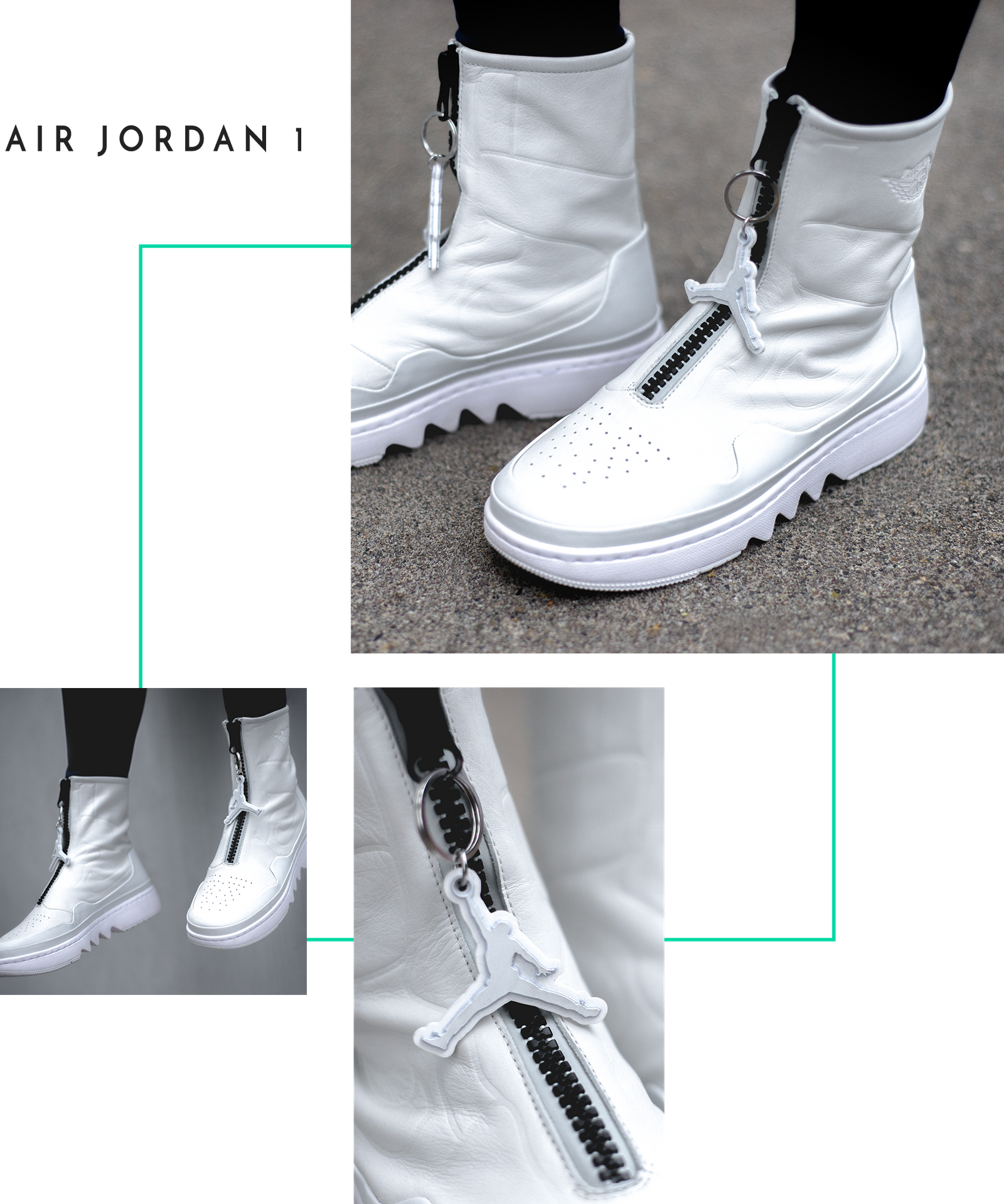 b43b40a0246 Nike The 1 Reimagined Jester XX Air Force 1 Jordan Jumpman Boot Logo Swoosh Women  Female