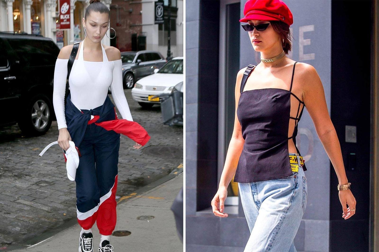 Kendall Jenner Hailey Baldwin Bella Hadid 2017 Street Style Shot Off Duty It Girl