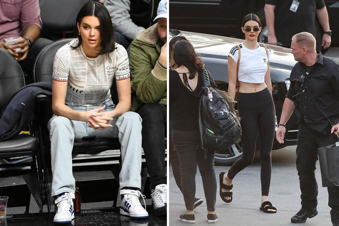 Kendall Jenner Hailey Baldwin Bella Hadid 2017 Street Style Shot Off Duty It Girl