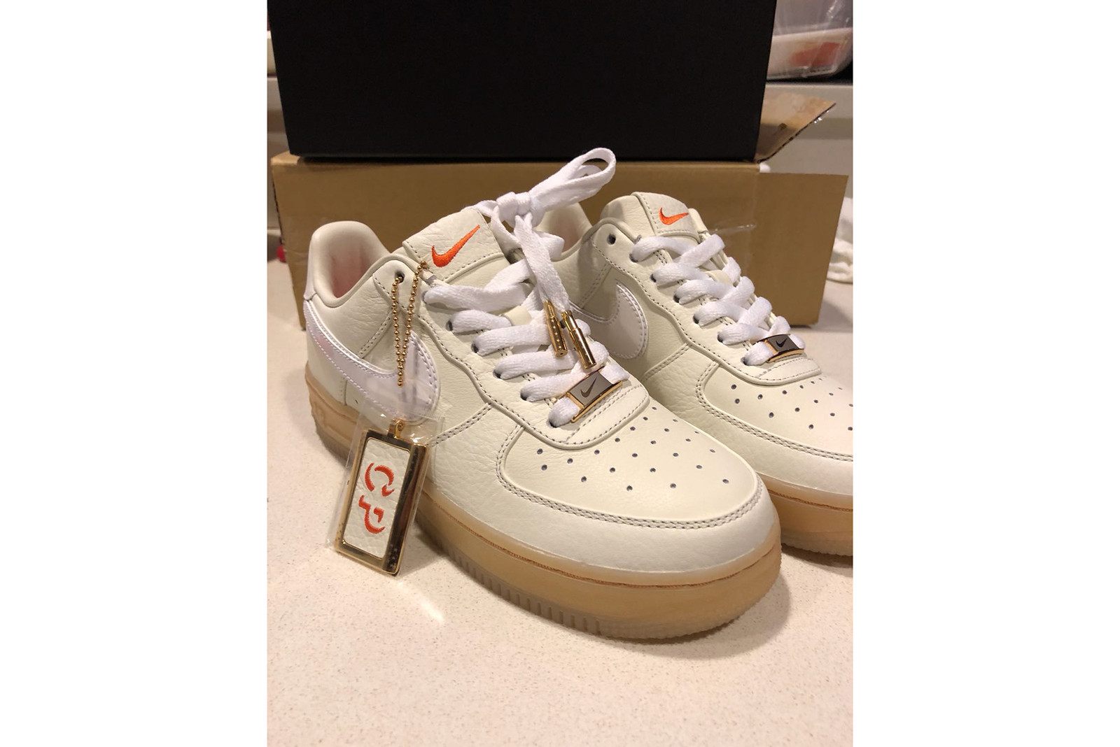 Exclusive First Look Christina Paik Custom Nike Air Force 1