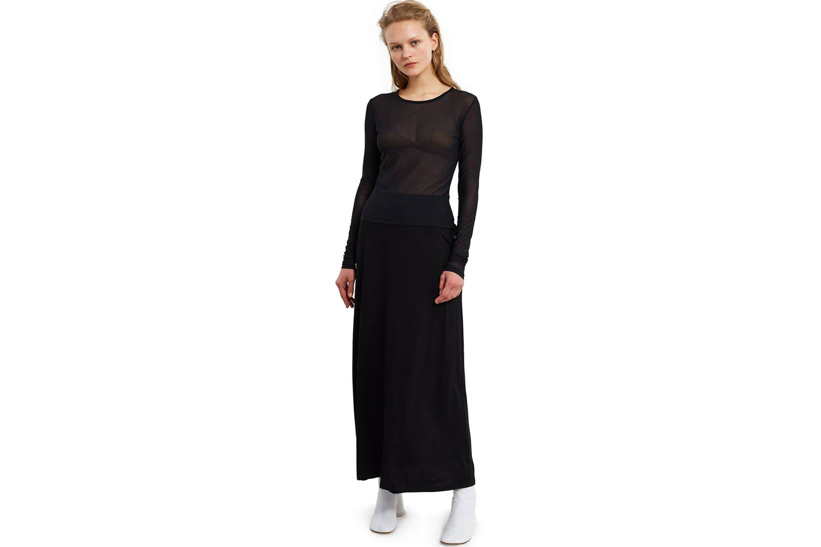 Balenciaga Tights Clutch Black