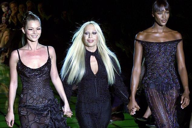 Kim Jones Leaves Louis Vuitton for Versace Rumor Donatella Gianni Kate Moss Naomi Campbell