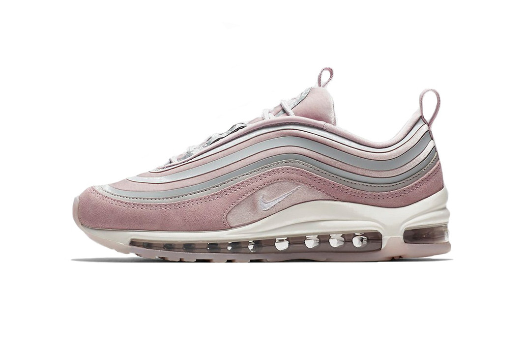Nike Air Max 97 Ultra LX Particle Rose Pink Vast Grey Summit White