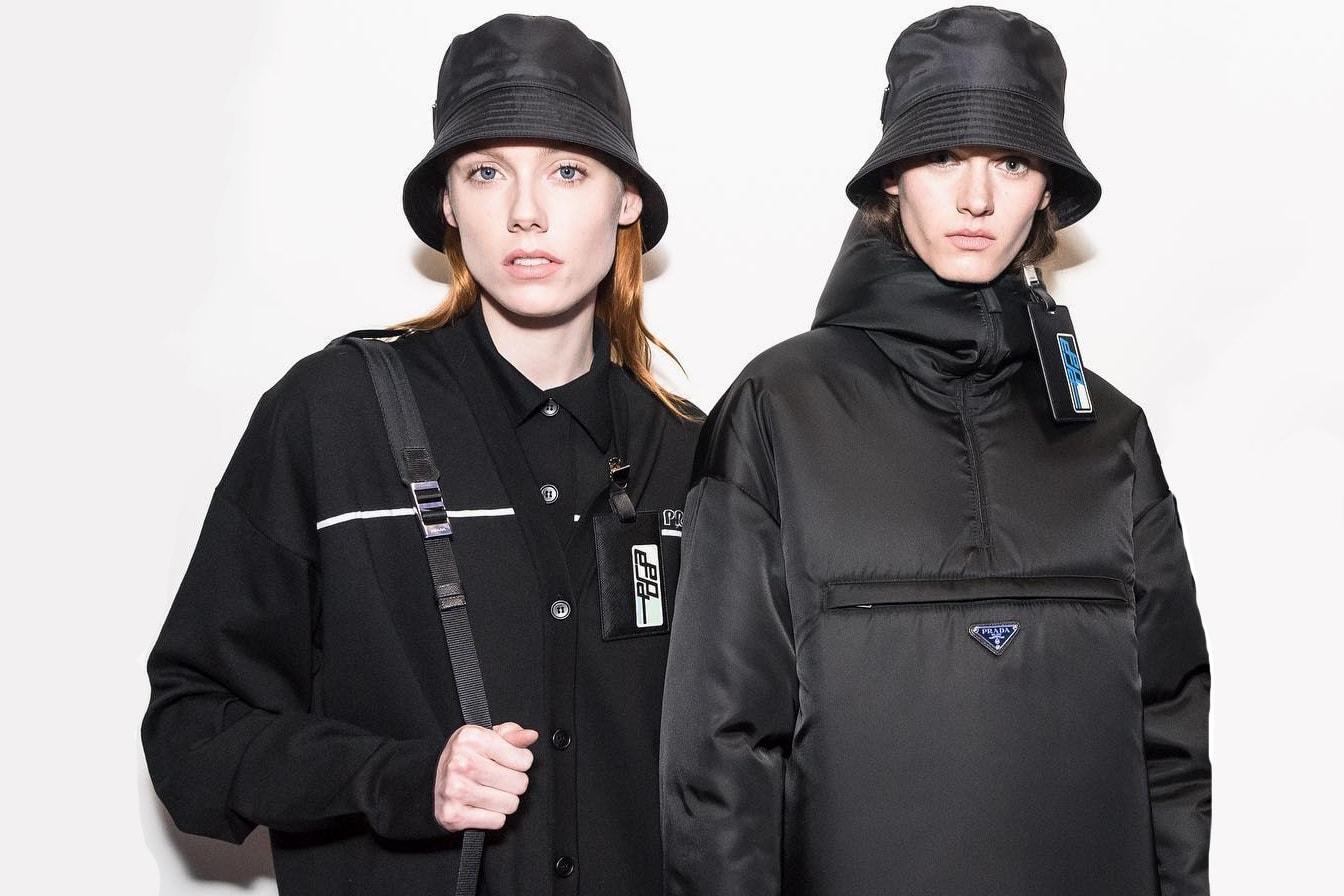 Prada Cloudbust Sneaker Silhouette Trend Vintage Prada Bag Nylon Resurgence Resurrection Miuccia Prada Italy Fashion