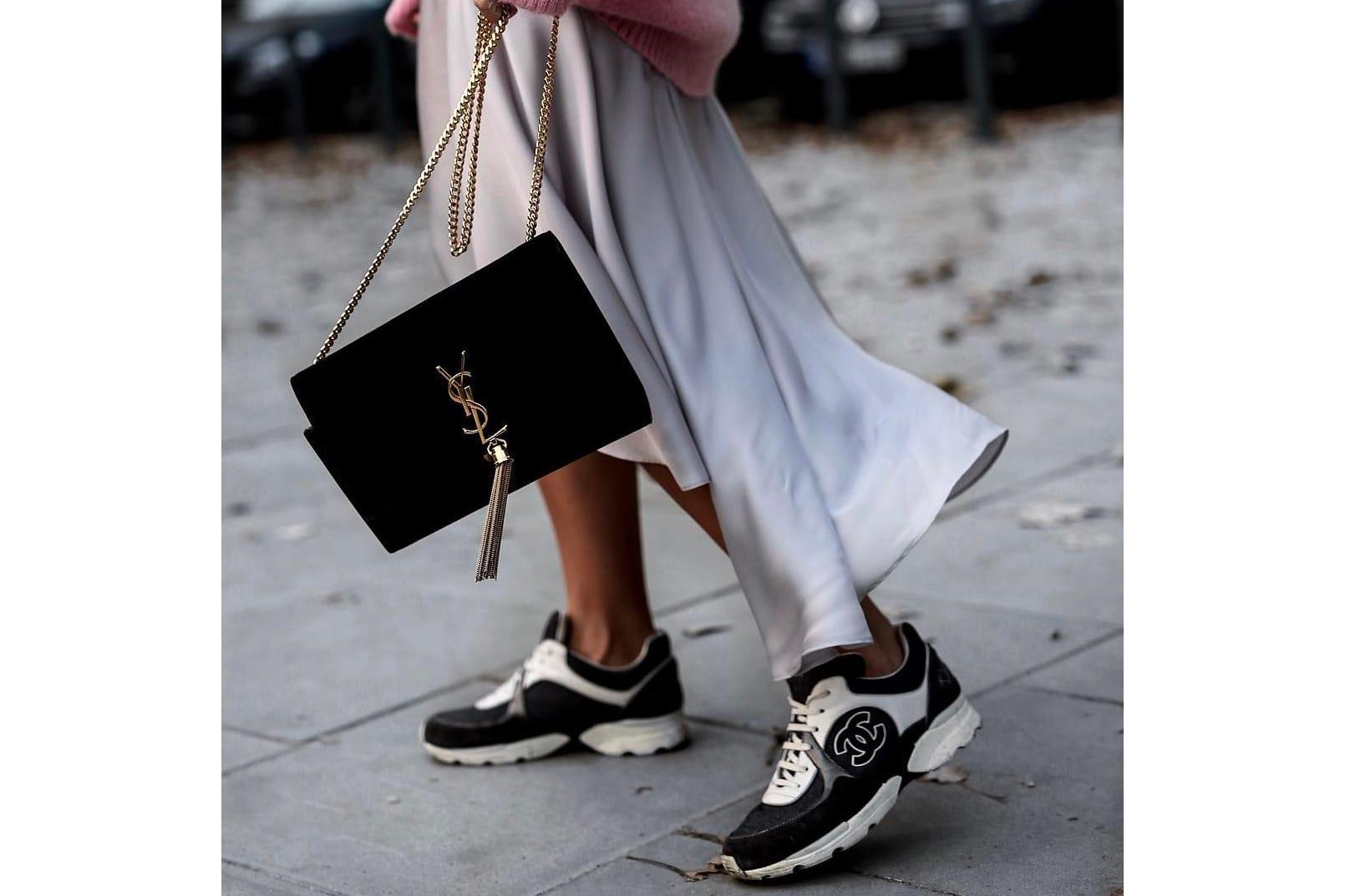 Buy Vintage Chanel Sneakers? | HYPEBAE
