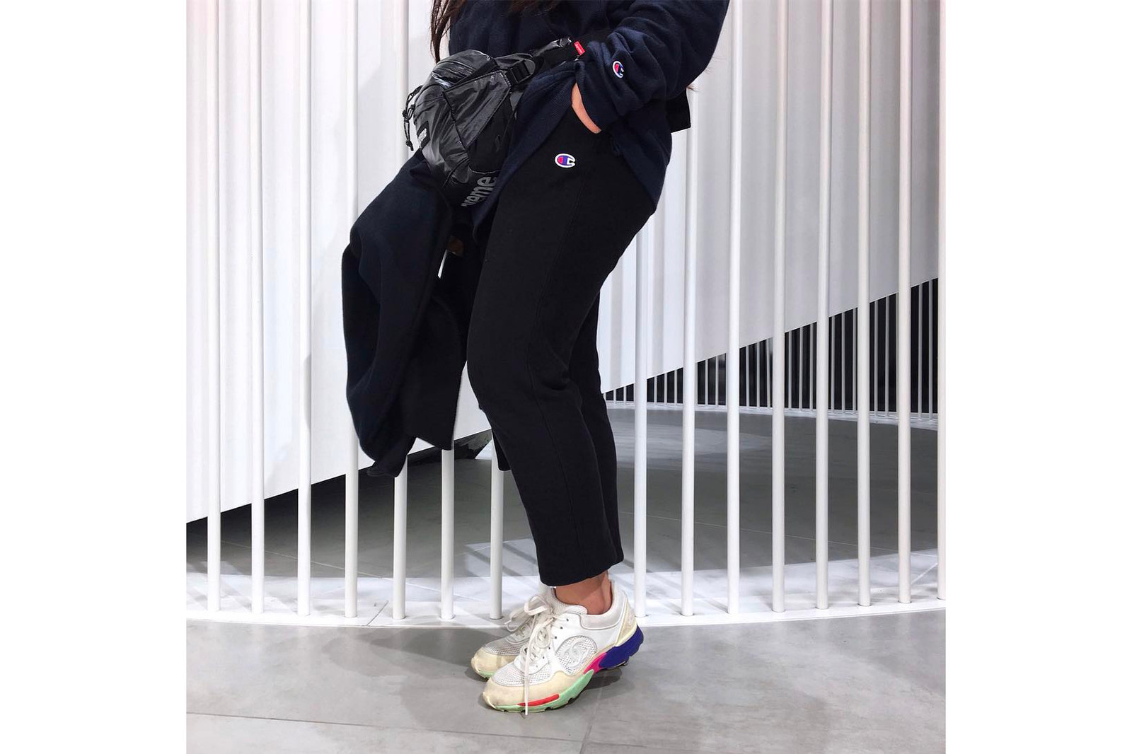 Vintage Chanel Sneakers Where to Buy Emily Oberg Instagram eBay Luxury