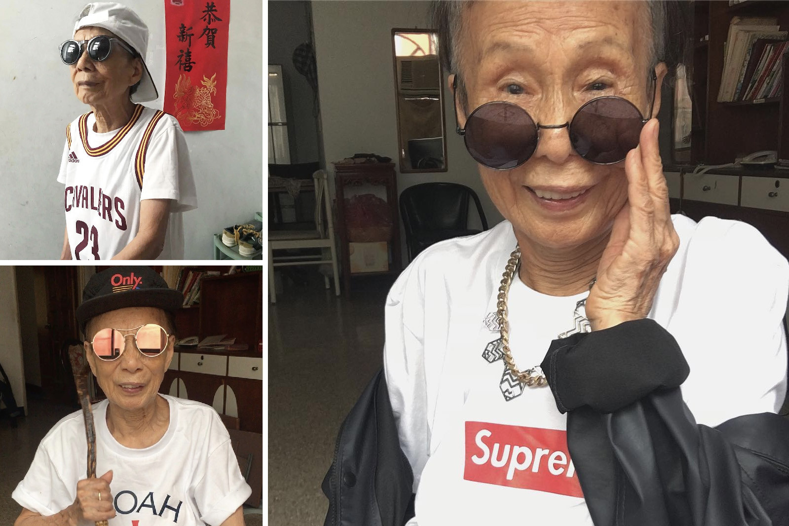 Instagram coolest senior citizens style old elderly people fashion icons baddie winkle moon lin lance dinneranddance accidental icon lili hayes supreme thrasher streetwear