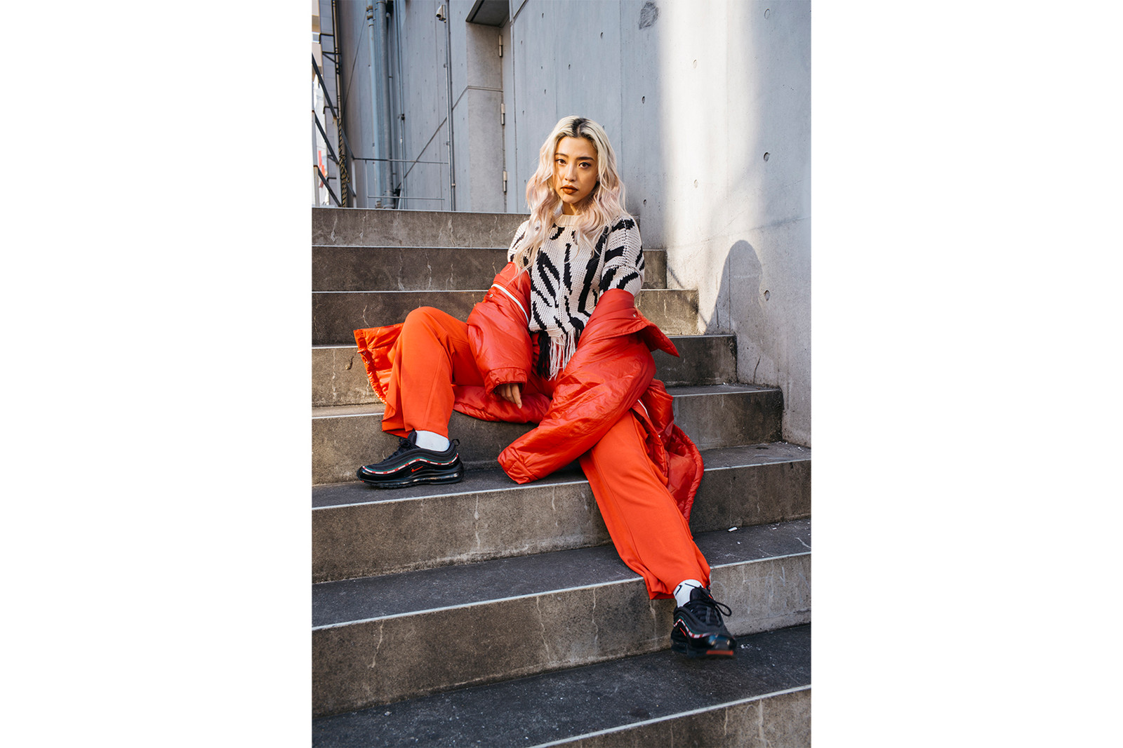 Alisa Ueno model dj fig&viper fig and viper creative director clothing brand tokyo japan japanese iPhone x commercial interview