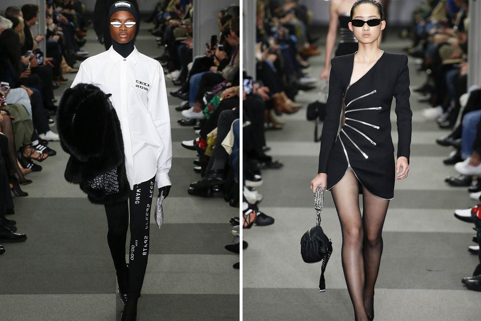 Kaia Gerber Coach 1941 Fall Winter 2018 New York Fashion Week Streetsnap