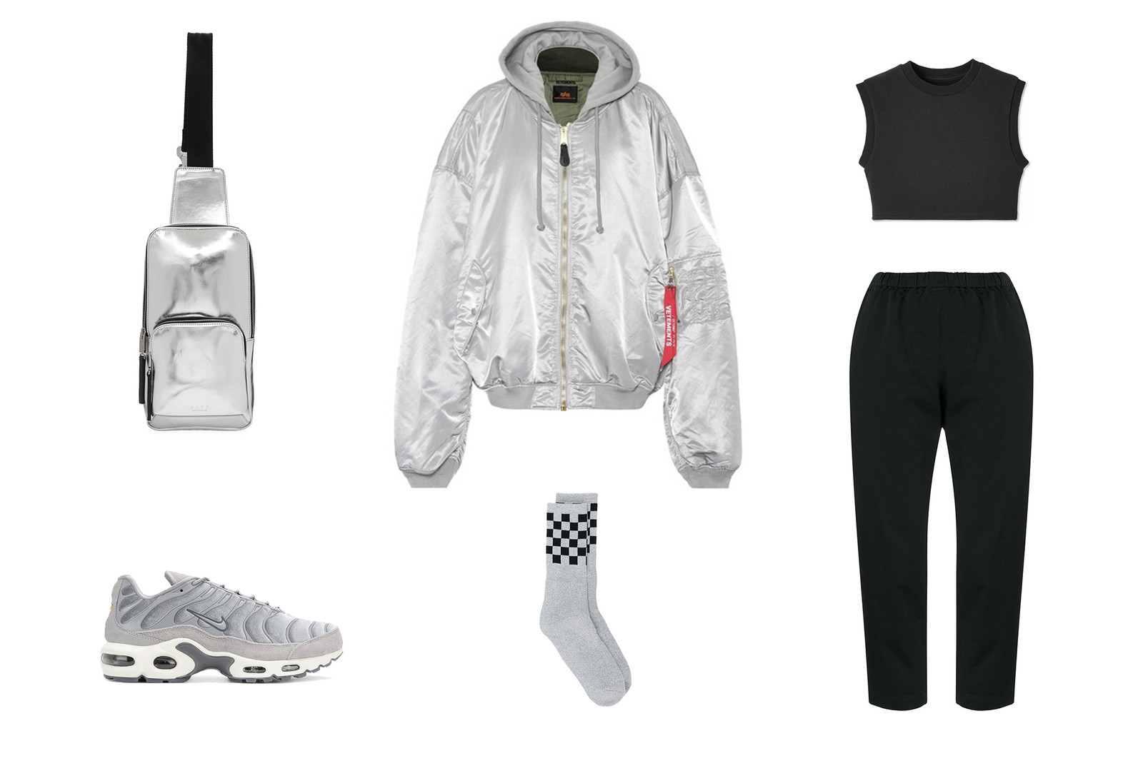 Editors' Style Guide: How To Wear Bomber Jackets Alpha Industries Outfit Ideas Fashion Vetements Gucci Off-White Balenciaga