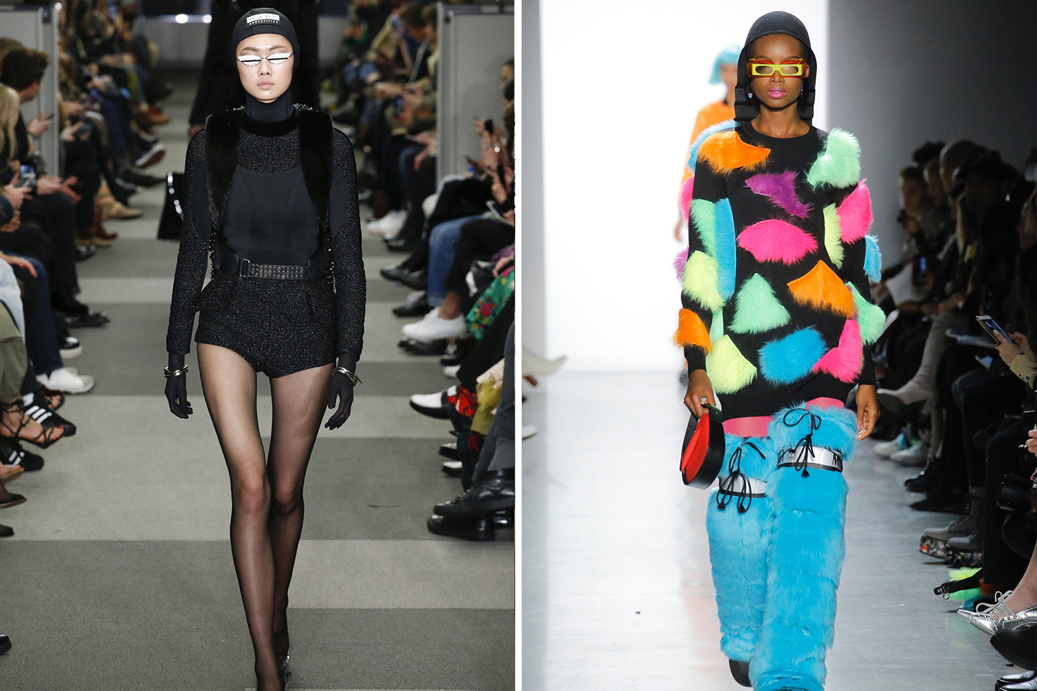 New York Fashion Week Accessories Runway Trends 2018 Alexander Wang Adam Selman Pyer Moss Fall/Winter 2018
